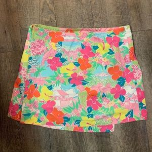 Dresses & Skirts - Lilly Pulitzer wrap skirt reversible size 8